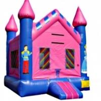 Commercial Grade Inflatable Princess Castle Bouncer Bouncy House