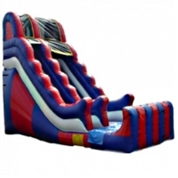 Commercial Grade Inflatable Wavy USA Slide