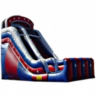 Commercial Grade Inflatable USA Dry Slide