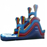 Commercial Grade Inflatable Adventure Back Loader Water Slide