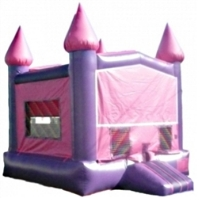 Commercial Grade Inflatable Pink Module Bouncer Bouncy House