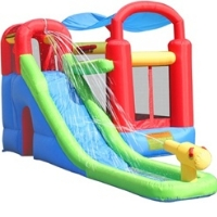 Playstation Bouncer Bouncy House with Blower - Wet Or Dry Combo
