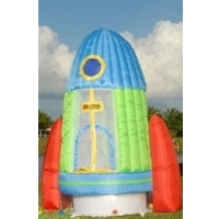 Rockin Rocket Bounce House Bouncy House with Ball Pit & Blower