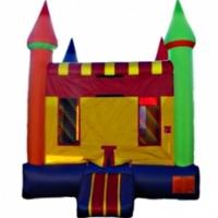 Commercial Grade Inflatable Rainbow Castle Bouncer Bouncy House
