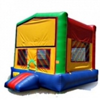 Commercial Grade Inflatable Rainbow Module Bouncer Bouncy House