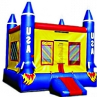 Commercial Grade Inflatable Rocket Ship Bouncer Bouncy House