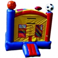 Commercial Grade Inflatable Super Sports Arena Bouncer Bouncy House