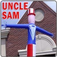 Uncle Sam Business Wacky Wind Blower
