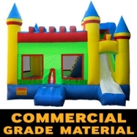 Commercial Grade Castle Inflatable Bouncer Bouncy House