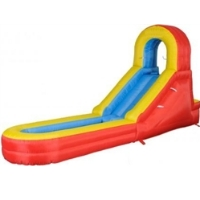 Slide and Splash Inflatable Bouncer with Blower