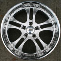 "18 Inch Silver w/ Machined Lip Automotive Rims 18"" Wheels - Set of 4"