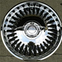 "20"" x 8.5"" Inch Triple Plated Chrome Automotive Bowl Rims - Set of Four"