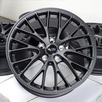 "17"" Effect Wheels Rims 5 Lugs Eclipse Galant Altima Maxima Juke Leaf Impreza"