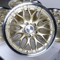 """17"""" Effect Wheels Rims Volkswagen Golf GTI Jetta Passat Audi A4 A5 A6 A8 S4 S5"""