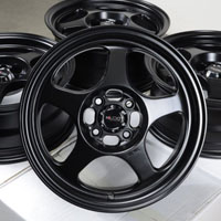 "15"" Kudo Wheels Rims 4x100 Escort Miata Lancer Civic Scion Xa Xb Corolla Yaris"