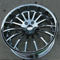 "20 x 8.5 / 20 x 10.0 Inch FWD Triple Plated Chrome Automotive Rims 20"" Wheels - Set of 4"