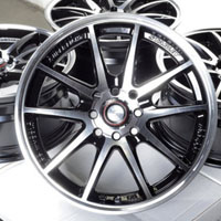 "16"" Black Wheels Rims 4 Lugs Integra Aveo Civic Accord Cooper Corolla Mr2 Scion"