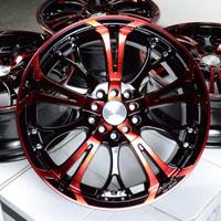 "17"" Effect Wheels Rims 5x100 5x114.3 Subaru Forester Impreza Camry Celica Jetta"