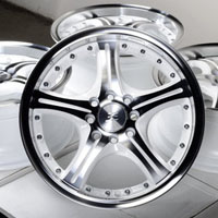 "15"" Effect Wheels Rims 4 Lugs Mercury Mystique Cougar Ford Contour Escort Focus"