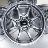 "15 Inch Gunmetal Automotive Rims 15"" Wheels - Set of 4"