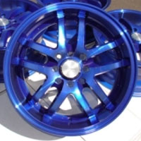"16 Inch Blue Automotive Rims 16"" Wheels - Set of 4"