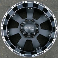 "20 x 9.0 Inch Matte Black w/ Machined - 8 Lug Automotive Rims - 20"" Wheels - Set of Four"