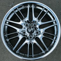 "18 x 8.0 Inch Triple Plated Chrome Automotive Rims 18"" Wheels - Set of 4"