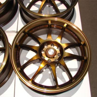 "15 Inch Bronze Automotive Rims 15"" Wheels - Set of 4"