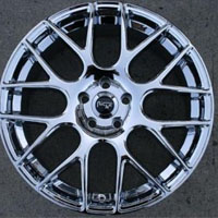 20 x 8.5 Inch Triple Plated Chrome Automotive Gallant Rims - Set of Four