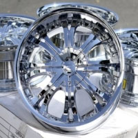 "20 Inch Chrome Automotive FWD Rims 20"" Wheels - Set of 4"