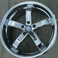 "20"" x 8.5"" / 20"" x 10"" Triple Plated Chrome Automotive Rims - 20"" Wheels Set of Four"