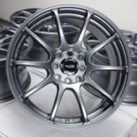 "16 Inch Gun Metal Automotive Rims 16"" Wheels - Set of 4"