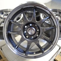 "17 Inch Gunmetal Automotive Rims 17"" Wheels - Set of 4"