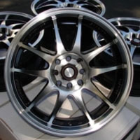 "15 Inch Automotive Rims 15"" Wheels - Set of 4"