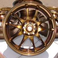 "17 Inch Bronze Automotive Rims 17"" Wheels - Set of 4"