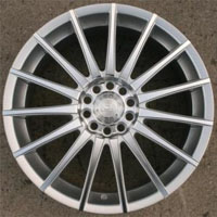 "18 Inch Silver Machined Automotive Rims 18"" Wheels - Set of 4"