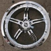 "19 Inch Triple Plated Chrome Automotive Rims 19"" Wheels - Set of 4"