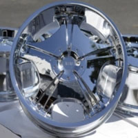 "22 Inch Chrome Automotive FWD Rims 22"" Wheels - Set of 4"