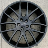 "22"" x 9.0"" Inch Matte Black Automotive Rims 22"" Wheels - Set of 4"