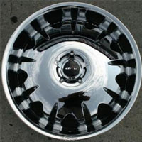 "22"" x 8.5"" Inch Triple Plated Chrome Automotive Rims 22"" Wheels - Set of 4"
