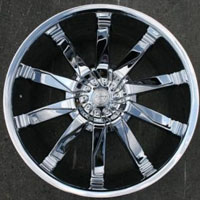"Set of 4 - 20"" Inch Triple Plated Chrome Automotive Rims 20"" Wheels"