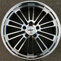 "19 Inch Gunmetal w/ Machined Face & Lip Automotive Rims 19"" Wheels - Set of 4"