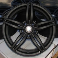 "18 Inch Black w/ BMW Emblem Automotive Rims 18"" Wheels - Set of 4"