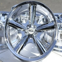 "18 Inch Chrome Automotive Rims 18"" Wheels - Set of 4"