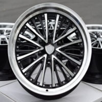 "20 Inch Black Automotive Rims 20"" Wheels - Set of 4"
