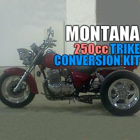 Montana 250cc Motorcycle Trike Conversion Kit
