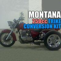 Montana 250cc Motorcycle Trike Conversion Kit