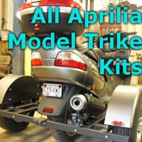Aprilia Scooter Trike Kit - Fits All Models