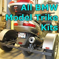 BMW Scooter Trike Kit - Fits All Models