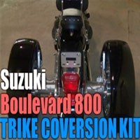 Suzuki Boulevard 800 Motorcycle Trike Conversion Kit